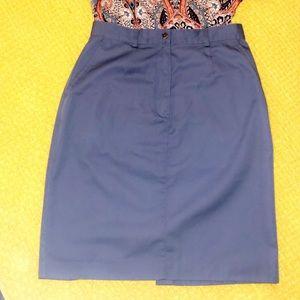 Blue LL Bean skirt